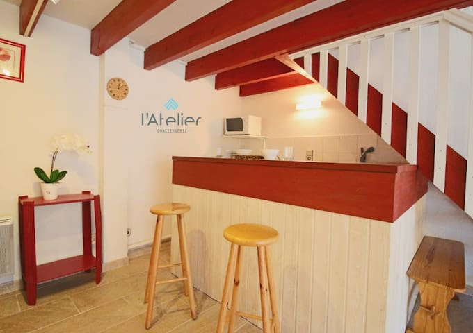 Jolie maison T3 à Guchan proche de Saint Lary - Guchan - Casa