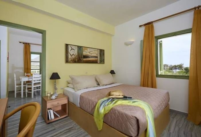 Ambeli Family One Bedroom Apartment with Garden View