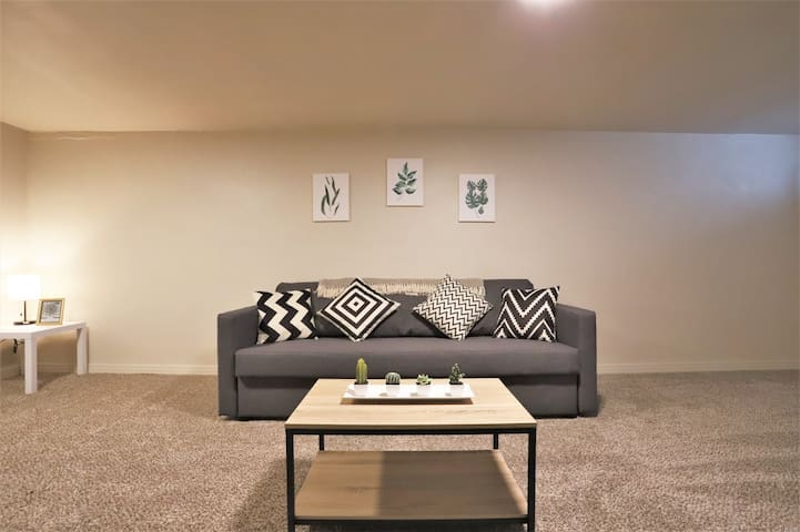 Comfy Lower Level Guest Suite