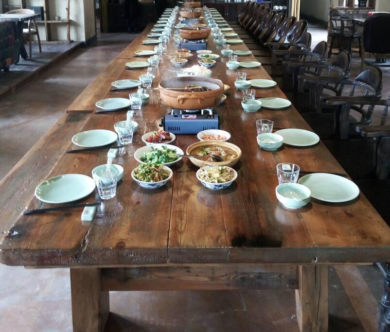 淳乡居特色长桌宴