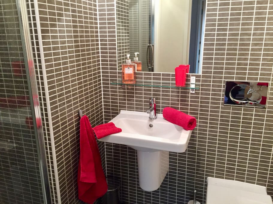 Well appointed and modern private bathroom