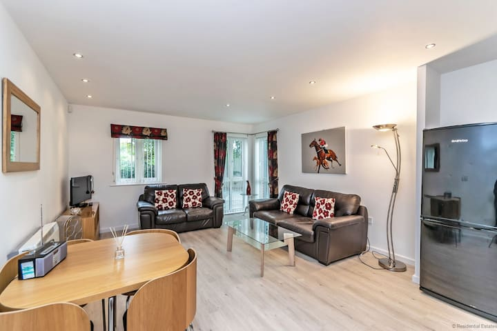 Spacious two bed apartment