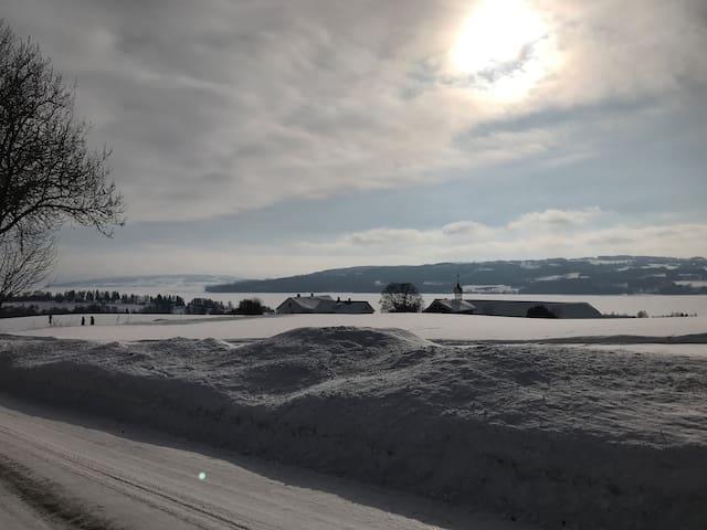 Eggs & Bacon in Furnes between Hamar & Brumunddal