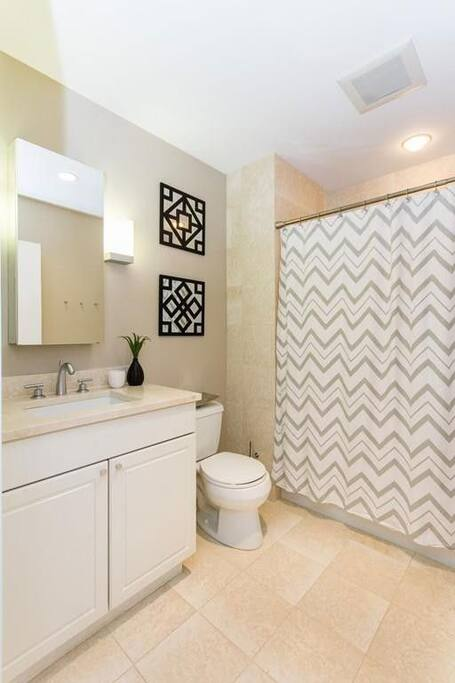 Cleaning service keeps shared bathrooms clean