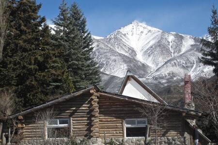 Cabaña Alpina al pie de Los Andes - Valle del Sol, Potrerillos