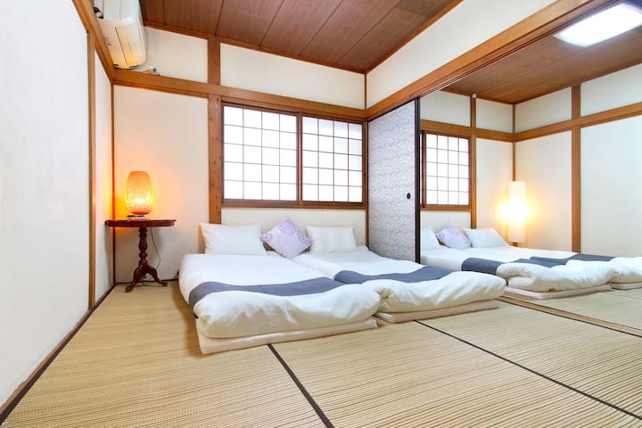 Lawful Ryokan house!One group fully reserved!