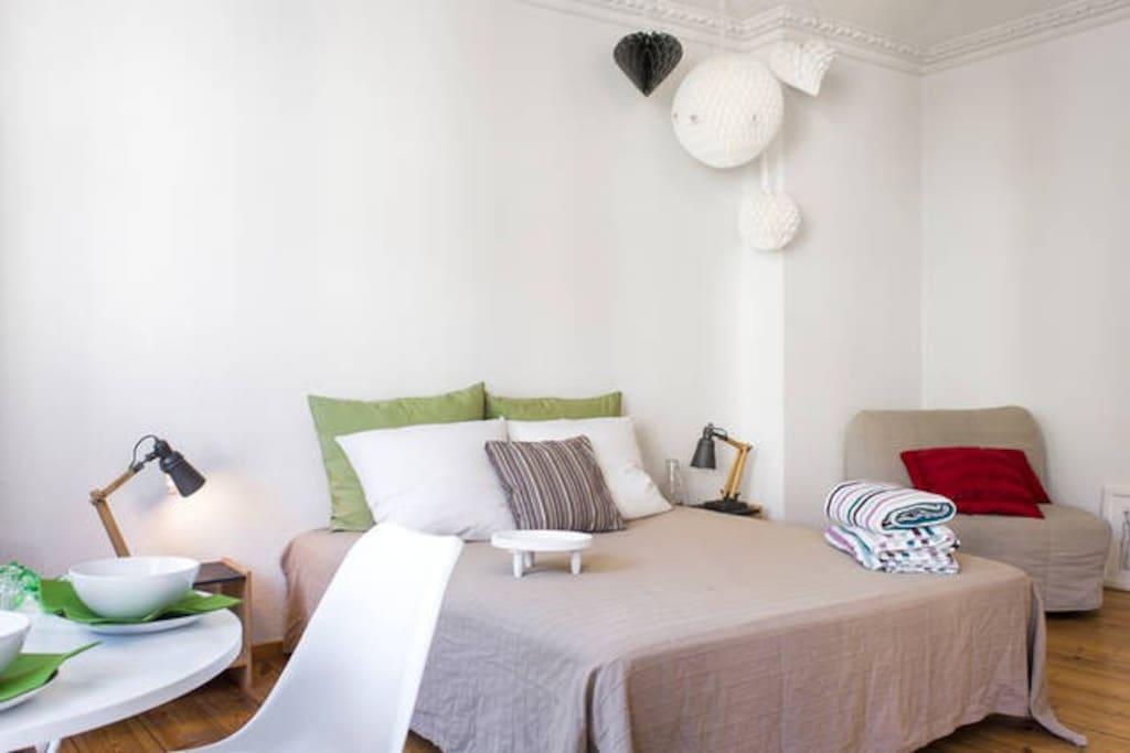 Cosy bed 160x200cm
