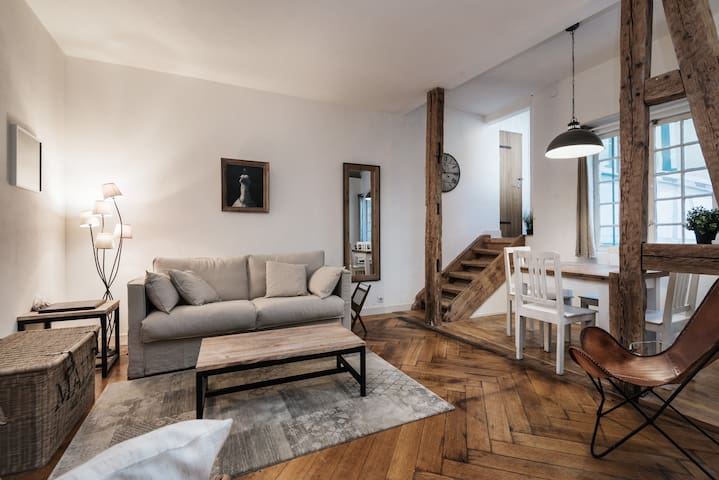 Apartment 85m2 in the heart of Strasbourg - Estrasburgo - Departamento