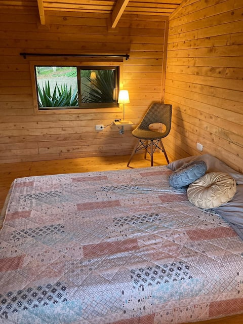 @myticabana • wooden tiny house on the heights