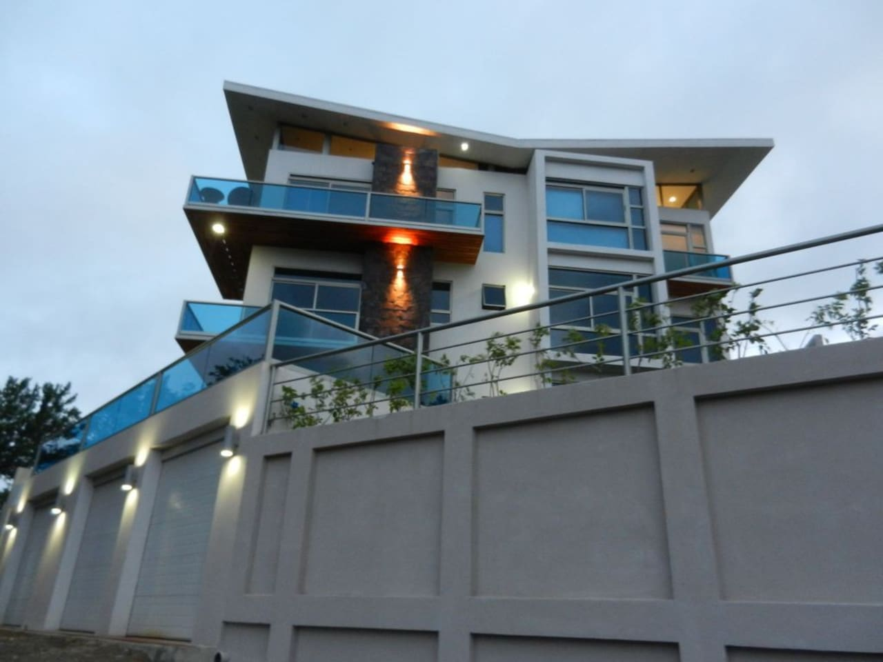 Modern condo with balcony and private garage