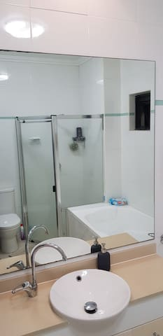 Private room with bathroom in a great location