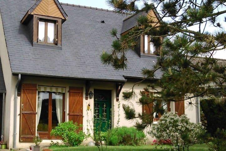 Belle maison à Amboise,circuit Loire à vélo.