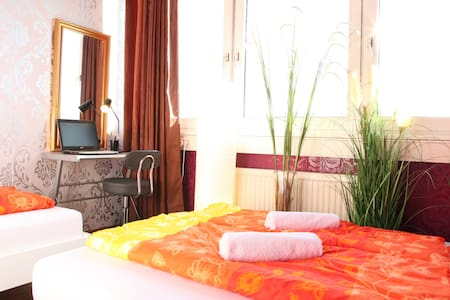 Functional room in Stuttgart for 1-3 persons - Stuttgart - Appartement