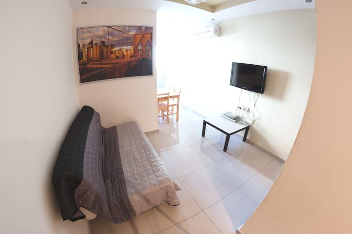 Elegant 1-bedroom near the sea (006)