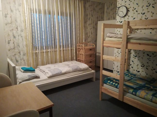 Nice room for 1-3 person, garden, parking, Vienna - Wien - Talo