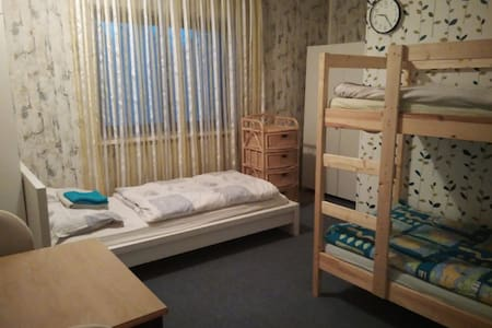 Nice room for 1-3 person, garden, parking Vienna - Wien - House