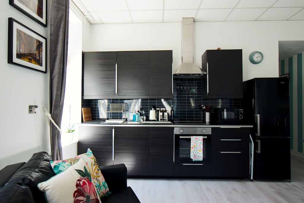 Brand-new kitchen