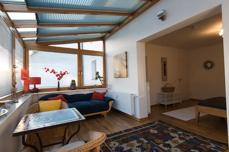 Fenêtre sur cour - Zimmer (30 qm) Wintergarten Bad - Bonn - Haus