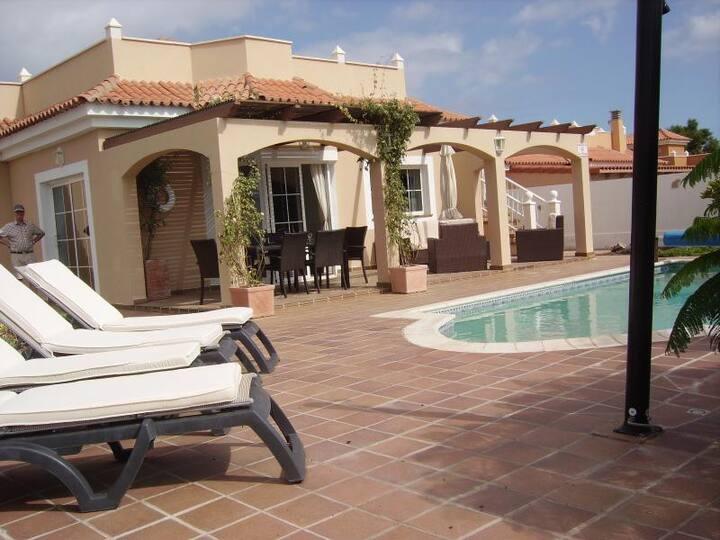 Stunning 5* villa with  salt water heated pool