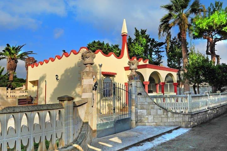 Villa mare 85mq-900mq giardino-2stanze-sogg/cucina