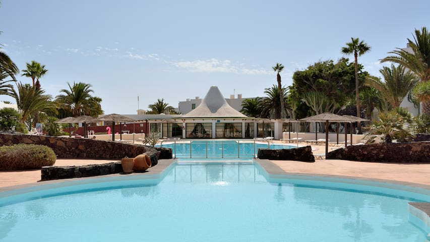 Loft Rock Complex Costa Teguise Share Pool wifi 9