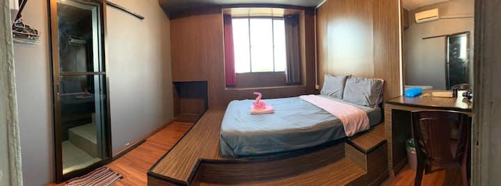 小竹林 M-01  bamboo homestay 两人房+独立卫生浴  步行十分钟抵达公共码头