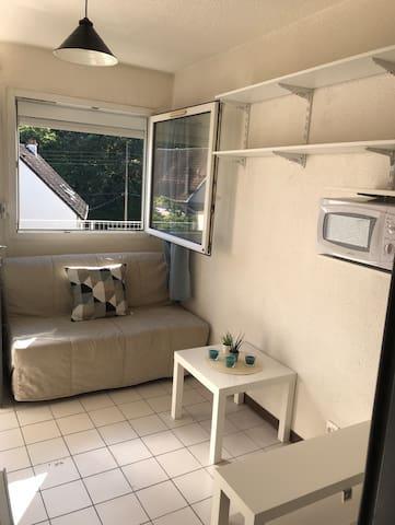 Studio idéal pour un séjour en Touraine