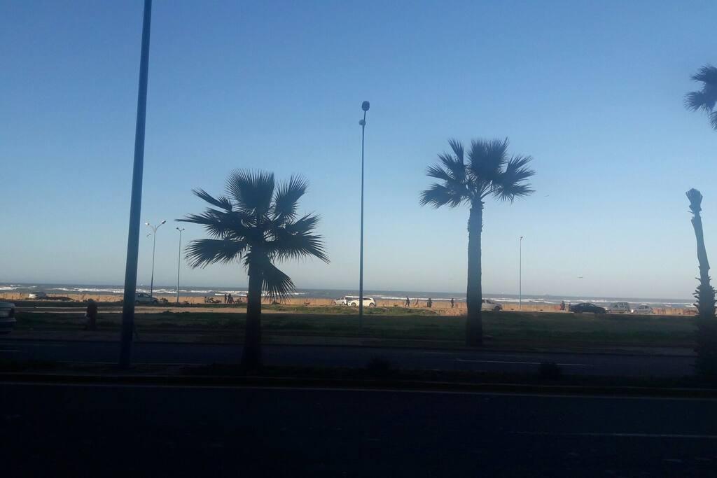 Résidence face à la mer sur la Corniche