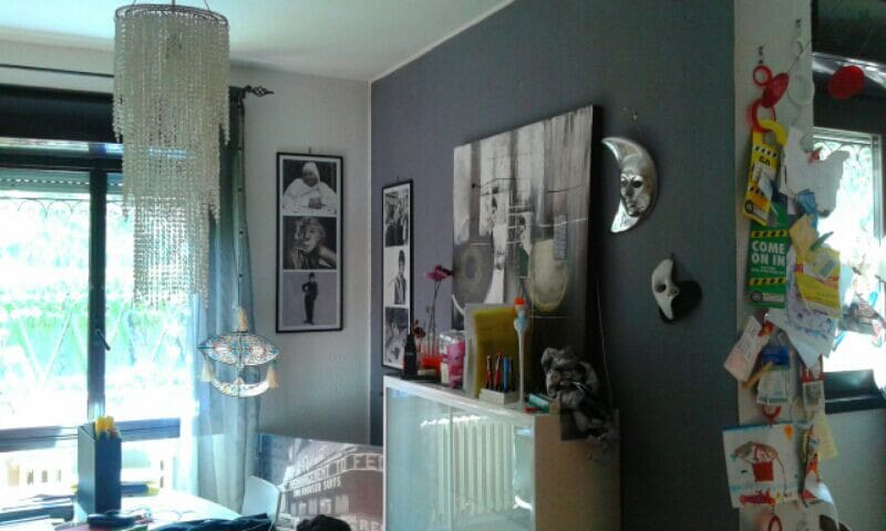 Camera Verde con giardino - Foligno - Apartmen