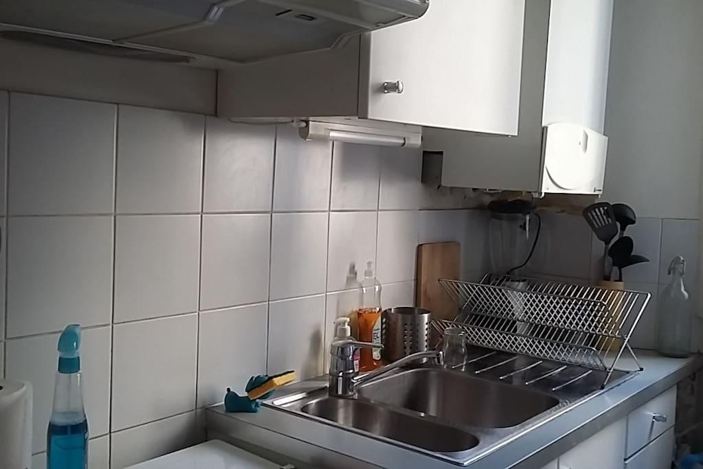cuisine petite et fonctionnelle