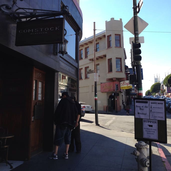 Photo of Comstock Saloon in Chinatown