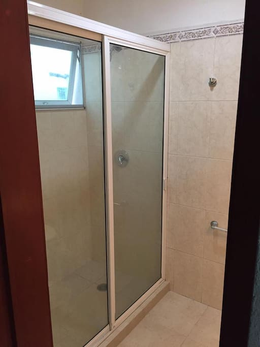 Shower in Private Washroom