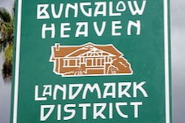 That's the house!  Featured on the Landmark District sign.
