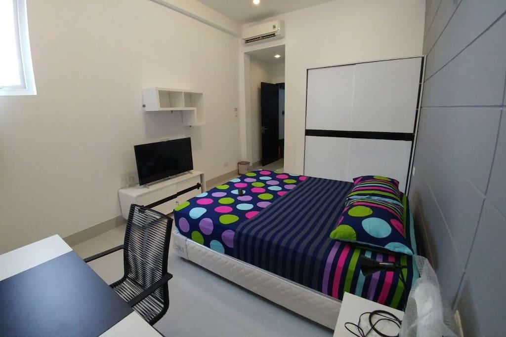 Room number 3, on second floor
