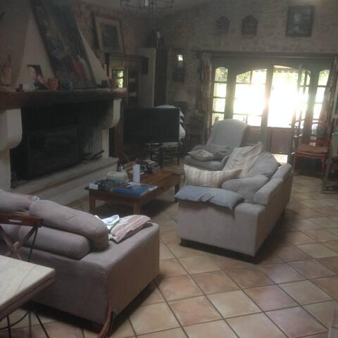 Chambre privées dans une bergerie authentiques - La Bruguière - Hus