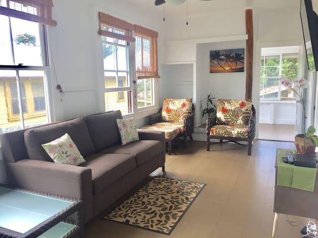 3 Bedroom Hawaiian House on Main strip of Town!