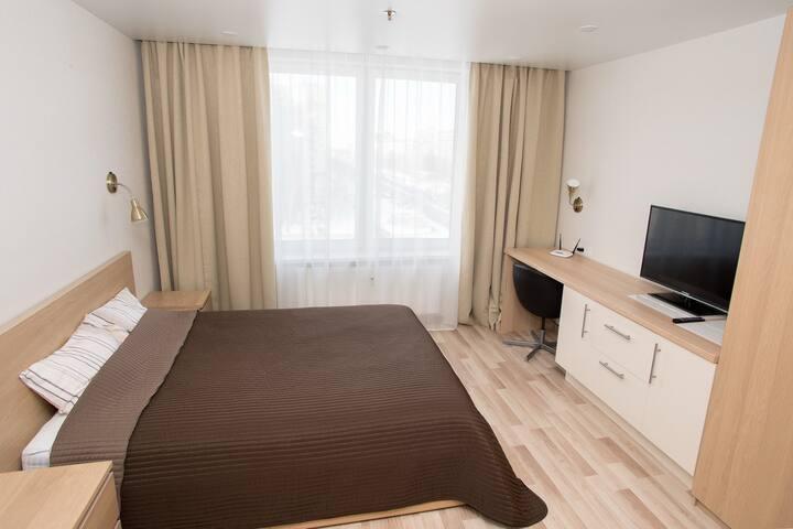 Уютная квартира-студия в апарт отеле