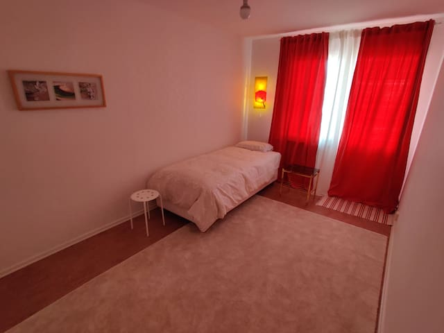 Privat room with balcony, near City