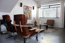 Eames Leather Chairs