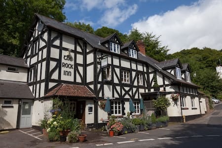 The Rock Inn - gastro pub in Somerset - Waterrow - ブティックホテル