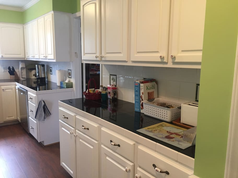 Kitchen — serving area