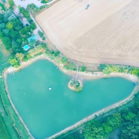 Mobile Home with swiming pool in SO - Montignac-de-Lauzun - 平房