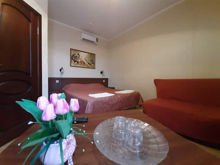 Double room . ASTORIA-HOUSE