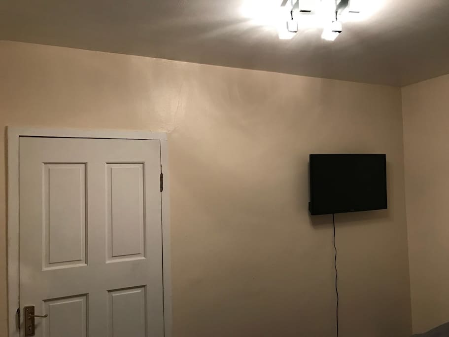 Smart Tv in your room packed with YouTube/Netflix etc to keep you entertain