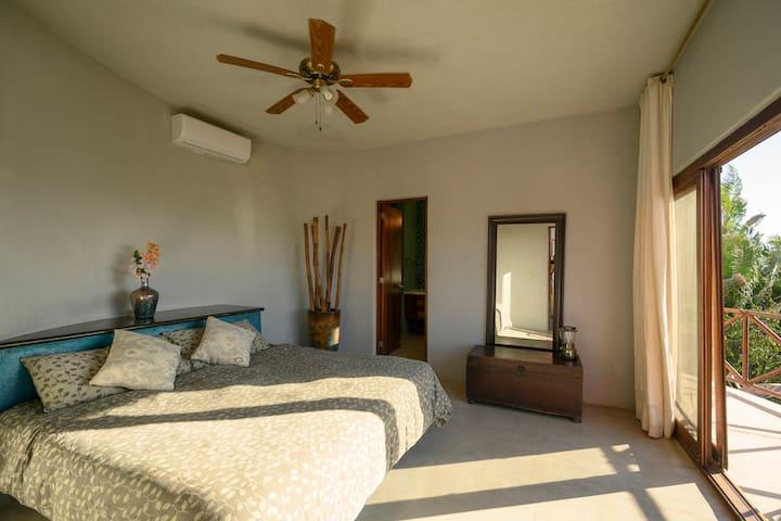 Our Ocean Suite, King Bed, En Suite, Walk in Closet, Open air showers, A/C, Private Terrace