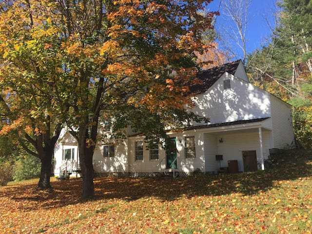 Farmhouse near waterfalls! Fall foliage a must see