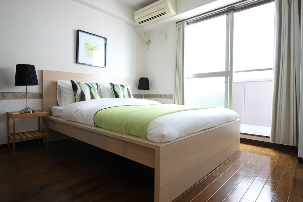 Comfortable Double sized bed !