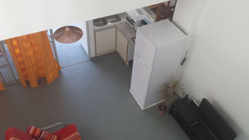 Appartement F3 duplex face à la mer du Diamant