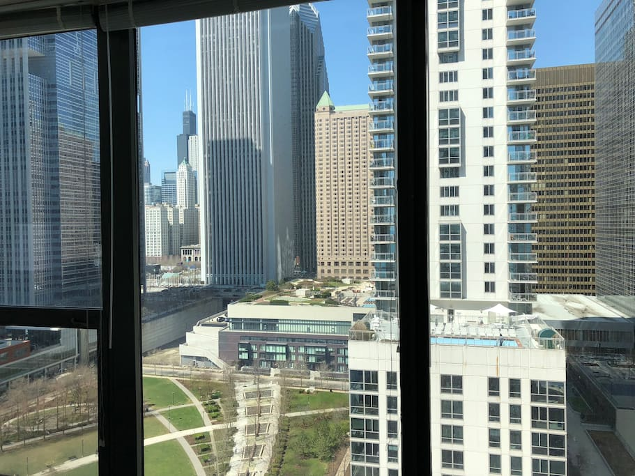 View of The Park at Lake Shore East