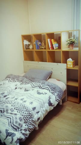 Gangdong Jamsil exellent private guestroom /w bath - 서울 - Apartment